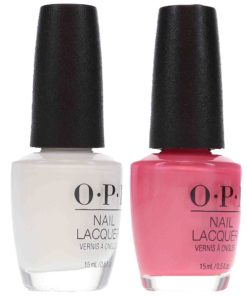 OPI Aphrodite's Pink Nightie 0.5 oz. and OPI Alpine Snow 0.5 oz Pink French Combo Set