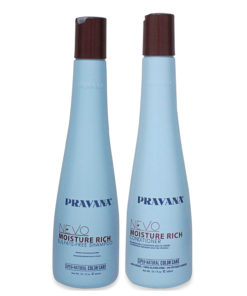 PRAVANA NEVO Moisture Rich Shampoo and Conditioner 10 Oz Combo Pack