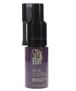 Style Edit Fill FX Instant Hair Building Fibers Spray Black 0.46 oz