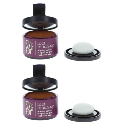 Style Edit Root Touch Up Powder Medium Brown 0.13 oz 2 Pack