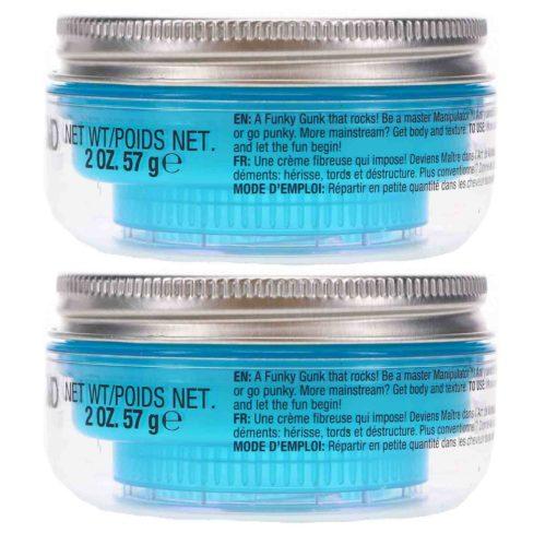 TIGI Bed Head Manipulator Texture Paste 2 oz 2 Pack