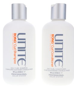 UNITE Boing Curl Shampoo and Conditioner 8 oz Combo Pack