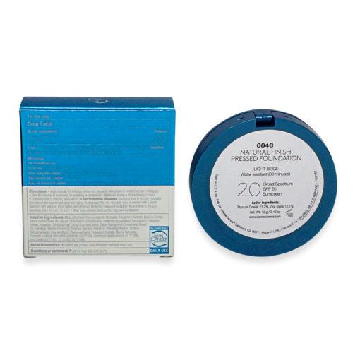 Colorescience Finish Pressed Foundation SPF 20 Light Beige 0.42 oz.