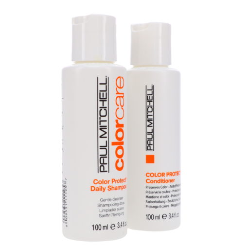 Paul Mitchell Color Protect Daily Shampoo & Conditioner Combo Set 3.4 oz.