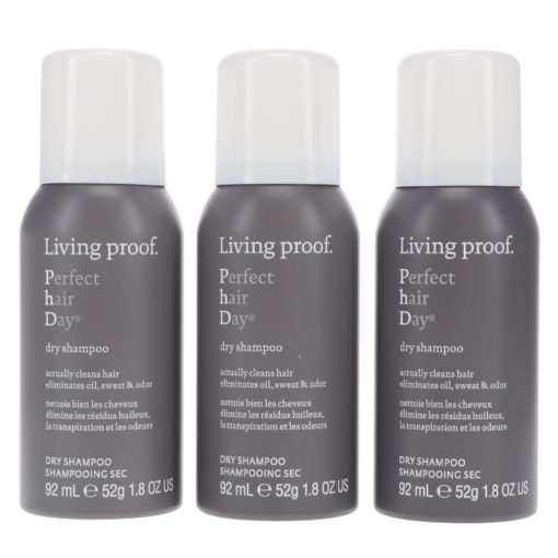 Living Proof Perfect Hair Day Dry Shampoo 1.8 Oz 3 Pack