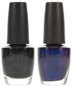 OPI Black Onyx NLT02 0.5 oz. and OPI Russian Navy NLR54 0.5 oz. Dark Combo Set