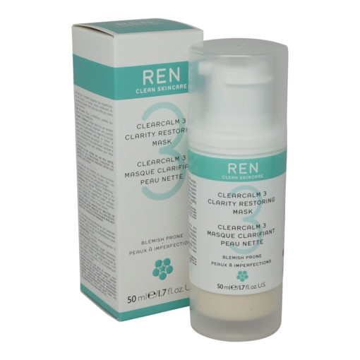 REN Skincare Clearcalm 3 Clarity Restoring Mask 50ml/1.7Oz