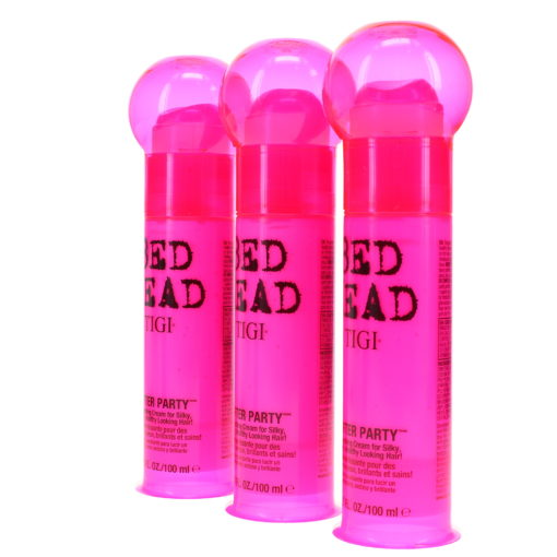 TIGI Bed Head After Party Smoothing Cream 3.4 Oz 3 Pack