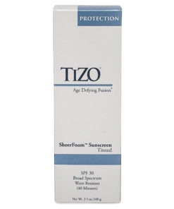 TIZO SheerFoam SunScreen Tinted SPF 30 - 3.5 oz