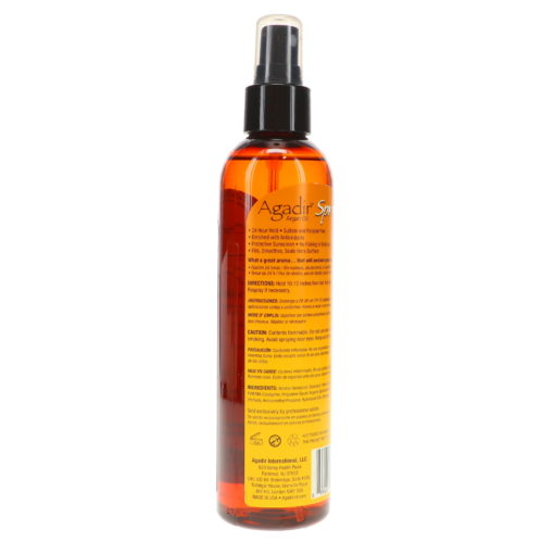 Agadir Argan Oil Spritz Styling Finishing Spray 8 Oz