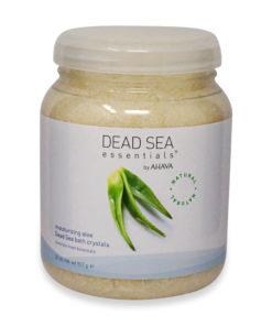 Ahava Aloe Bath Salt Jar 32 oz