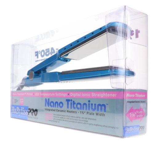 BaBylissPRO Nano Titanium-Plated Ionic Straightening Iron 1 3/4 in