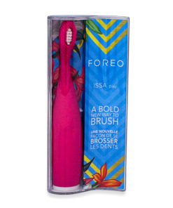 FOREO ISSA play Silicone Electric Toothbrush, Wild Strawberry