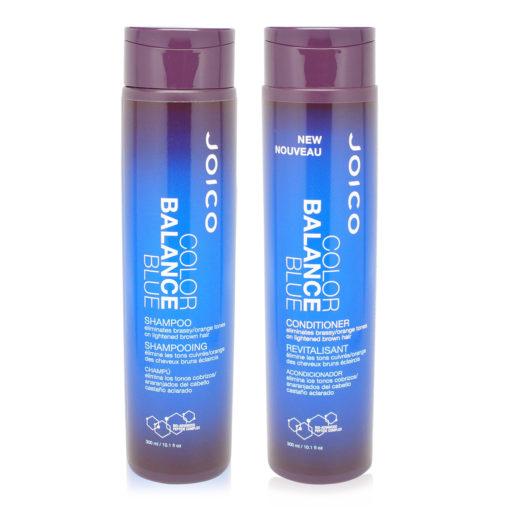 Joico Color Balance Blue Shampoo and Conditioner 10.1 Oz