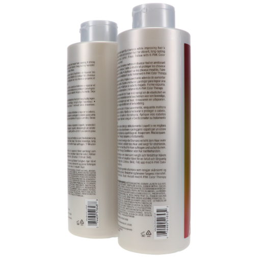 Joico K-Pak Color Therapy Shampoo and Conditioner 33.8 Oz Combo Pack