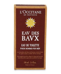 L'Occitane Woody Eau des Baux Eau de Toilette 3.4 oz.