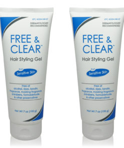 Free & Clear Hair Styling Gel 7 Oz (Pack of 2)