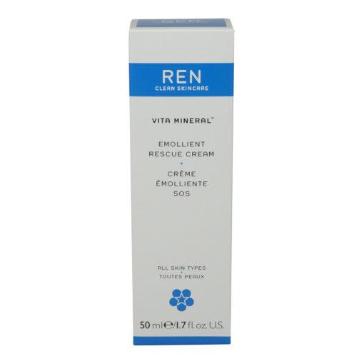 REN Skincare Vita Mineral Emollient Rescue Cream (All Skin Types) 50Ml/1.7Oz