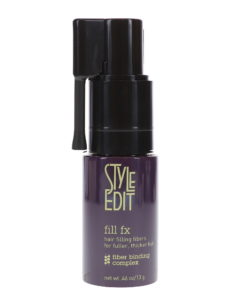 Style Edit Fill FX Instant Hair Building Fibers Spray Medium Brown 0.46 oz
