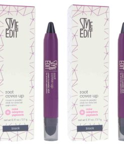Style Edit Instant Root Cover Up Stick Black 0.11 oz 2 Pack