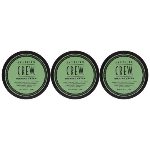 American Crew Forming Cream 3 oz 3 Pack