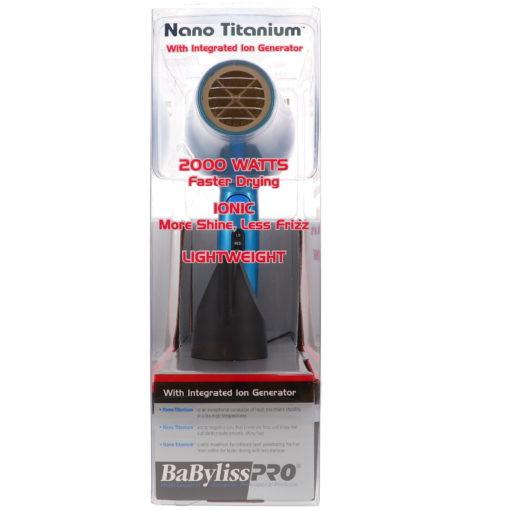 BaBylissPRO Nano Titanium Mid Size Hair Dryer