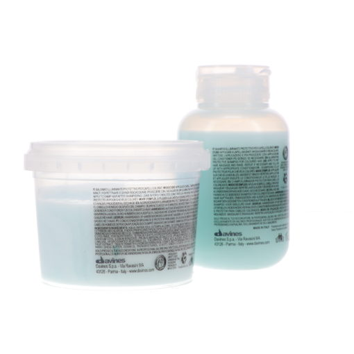 Davines MINU Illuminating Shampoo 2.5 oz & Davines MINU Illuminating Conditioner 2.5 oz Combo Pack