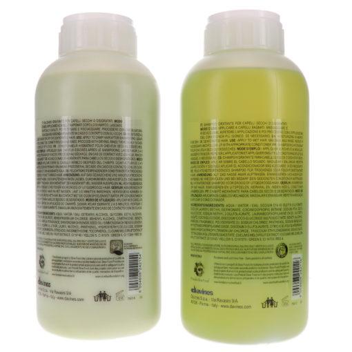 Davines MOMO Moisturizing Shampoo 33.8 oz & MOMO Moisturizing Conditioner 33.8 oz Combo Pack
