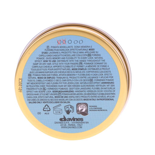 Davines This is a Forming Pomade 2.7 oz