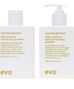 EVO Normal Persons Daily Shampoo & Daily Conditioner 10.14 Ozl Combo Pack