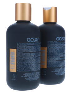 GO247 Real Men Shampoo and Conditioner 8 oz. Combo Pack