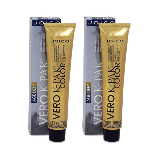 Joico Vero K-Pak Age Defy Hair Color 6NN+ Light Natural Natural Brown (2 Pack)