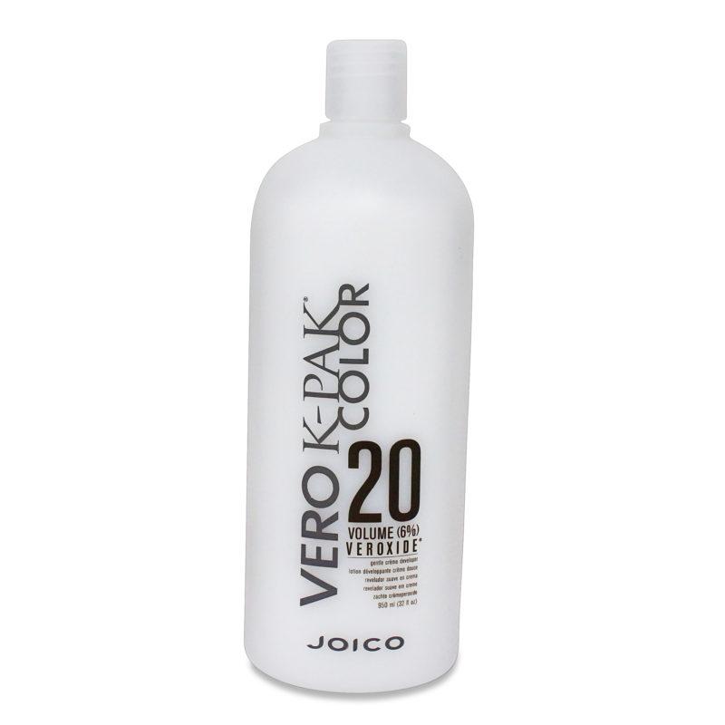 Joico Vero K-Pak Color Volume Veroxide Creme Developer, (6%) 20- 32Oz