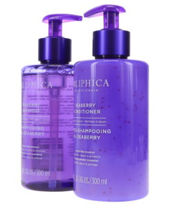 Obliphica Professional Seaberry Shampoo & Conditioner, Medium to Coarse 10 oz Combo Pack