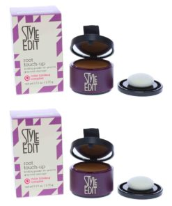 Style Edit Root Touch Up Powder Light Brown 0.13 oz 2 Pack