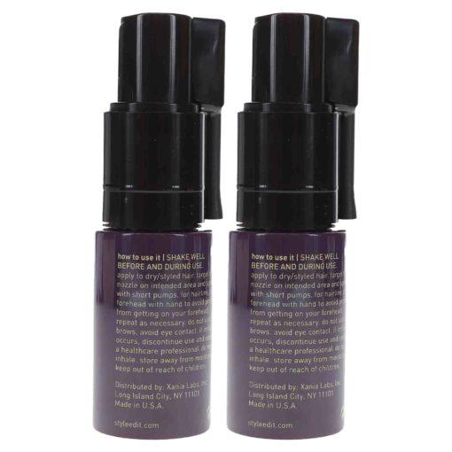 Style Edit Fill FX Instant Hair Building Fibers Spray Dark Brown 0.46 oz 2 Pack