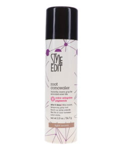 Style Edit Light Brown Root Concealer Touch Up Spray 2 oz