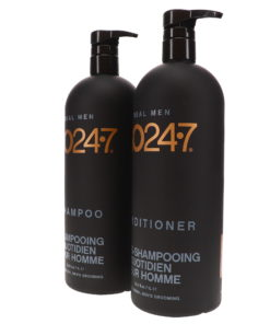 GO247 Real Men Shampoo and Conditioner 33.8 oz. Combo Pack