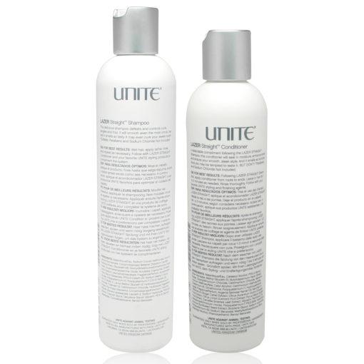 UNITE Hair Lazer Straight Shampoo 10 oz. and Conditioner 8 oz. Combo Pack
