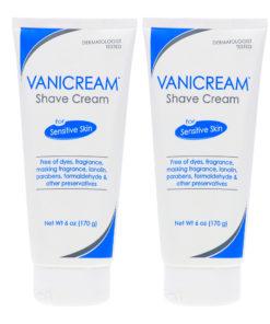 Vanicream Shave Cream 6 Oz (Pack of 2)