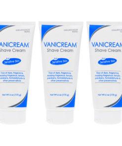 Vanicream Shave Cream For Sensitive Skin 6 Oz (Pack of 3)