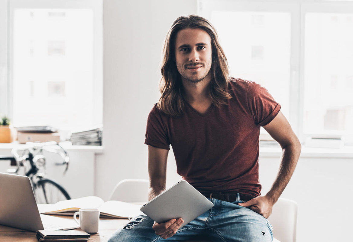 Best Styling Products for Men's Long Hair Image