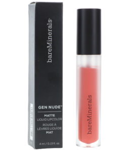bareMinerals Gen Nude Matte Liquid Lipstick Friendship 0.13 oz