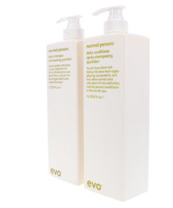 EVO Normal Persons Daily Shampoo & Daily Conditioner 33.8 Oz Combo Pack