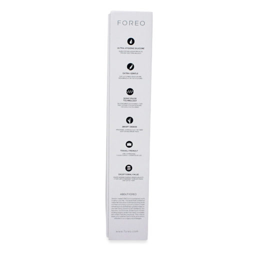 FOREO ISSA Hybrid Rechargeable Electric Toothbrush with Silicone and PBT Polymer Bristles, Lavender