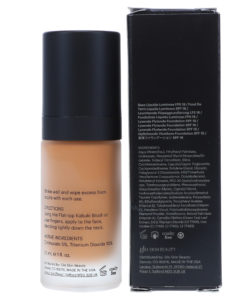 Glo Skin Beauty Luminous Liquid Foundation Spf 18 Cafe 1 oz.