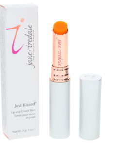 jane iredale Just Kissed Lip and Cheek Stain Forever Peach 1 oz