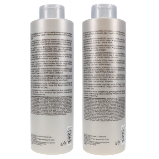 Joico K-Pak Reconstruct Shampoo and Conditioner 33.8 Oz  Combo Pack