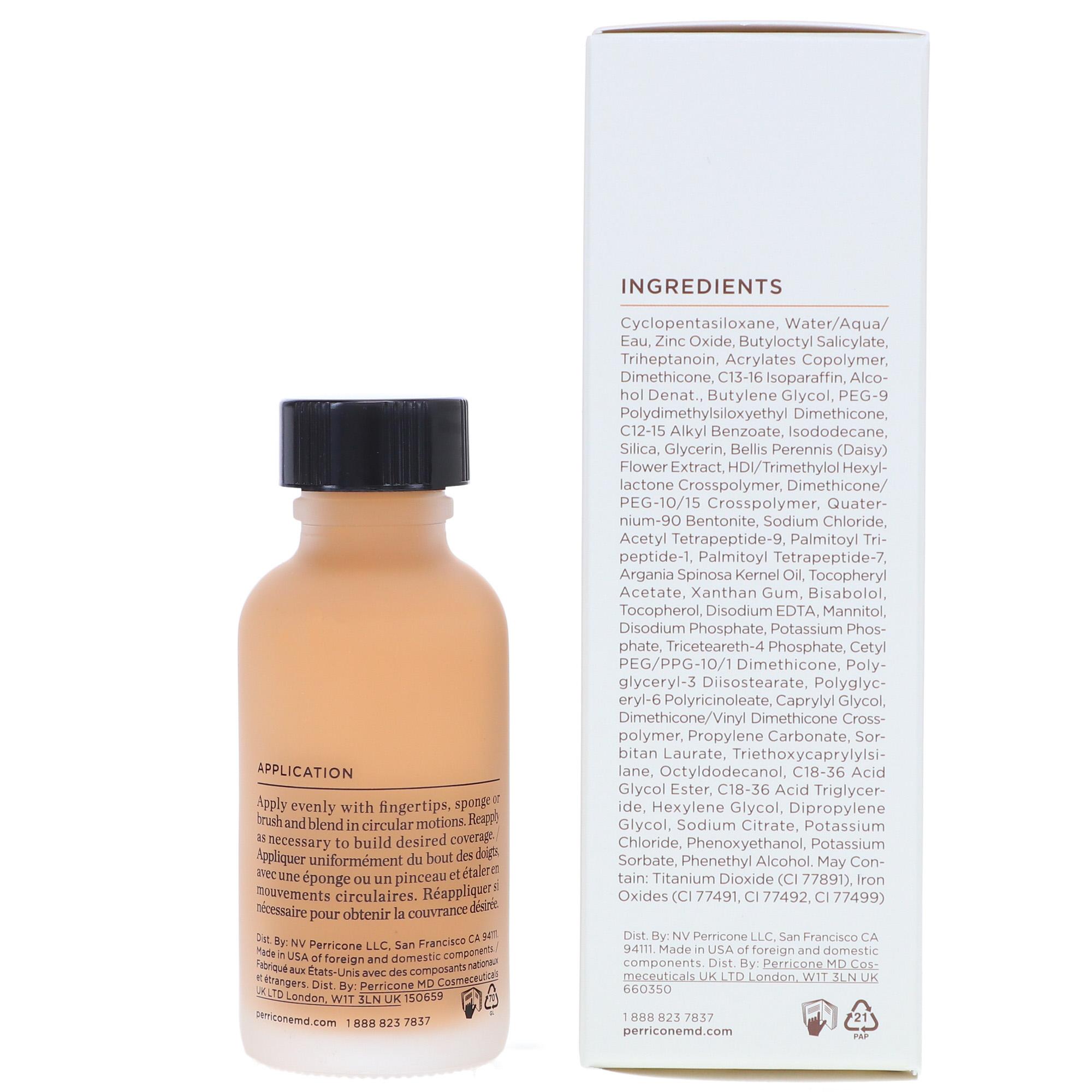 Perricone MD No Makeup Foundation Serum SPF 20 - 1 oz Nude
