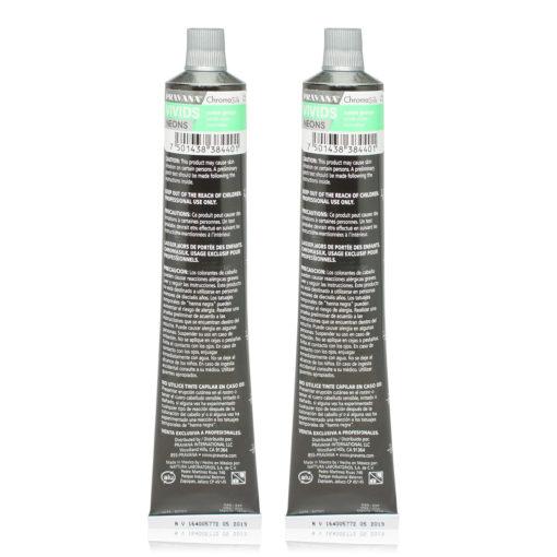 PRAVANA ChromaSilk Vivids (Neon Green) 3 0z - 2 Pack
